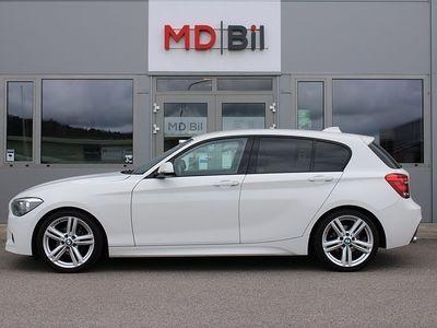 begagnad BMW 118 d M Sport HiFi 143hk