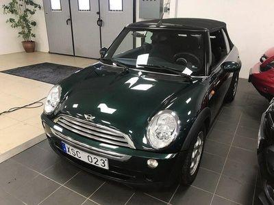 begagnad Mini Cooper Cabriolet Curry AUT. 116hk Svensksåld