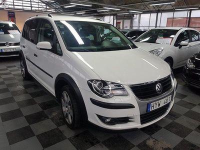 begagnad VW Touran Cross 1.4 TSI Travel 7-sits