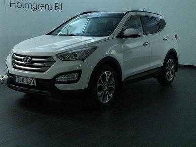 begagnad Hyundai Santa Fe 2.2 CRDi 4WD Drag Navi
