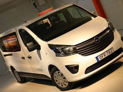 begagnad Opel Vivaro 1.6 CDTI BIturbo / Euro6 / 9plats -17