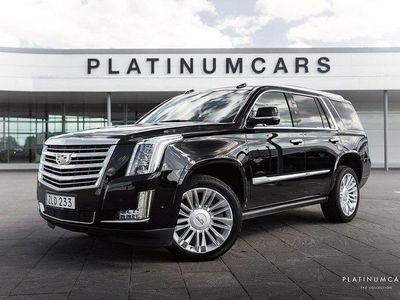 begagnad Cadillac Escalade V8 Platinum LEASE / SV.SÅLD