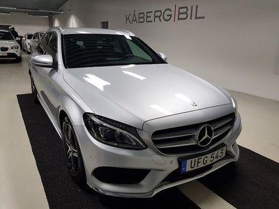 begagnad Mercedes C220 T d 4M 220D / 4MATIC / AMG pkt / Drag