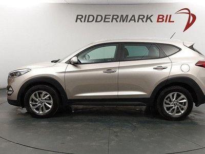 begagnad Hyundai Tucson 1.6 T-GDI 4WD 177hk Fullservad
