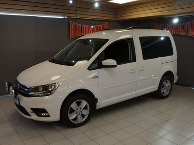 begagnad VW Caddy LIFE 2,0TDi AUT 4M Värmare