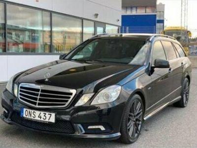 begagnad Mercedes E350 212 KCDI 4MATIC