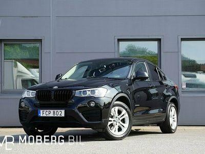 begagnad BMW X4 xDrive 20d 190hk Taklucka Navi Hifi Värmare