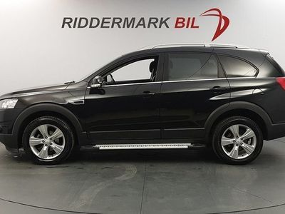 used Chevrolet Captiva 2.2D 4WD 184hk 7-SITS / NYSERVAD / AUT