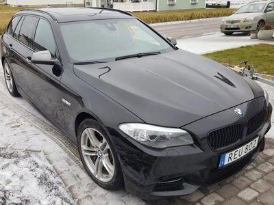 begagnad BMW M550 d Ny Motor 4000 mil -13