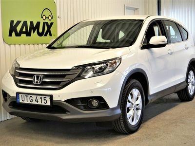 begagnad Honda CR-V 2.0 i-VTEC 4WD Aut Drag S&V-Hjul (155hk)