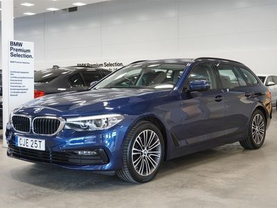 begagnad BMW 520 d xDrive Touring Sportline Winter Drag