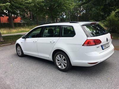 begagnad VW Golf Sportscombi 1.4 TGI CNG DSG