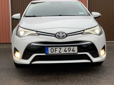 begagnad Toyota Avensis 1,8 sedan ACTIVE PLUS LED