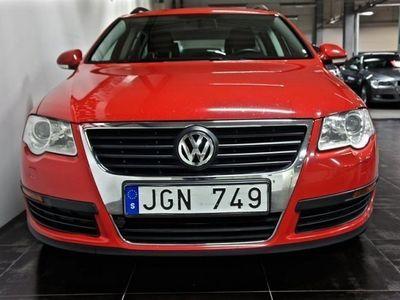 begagnad VW Passat 2.0 TDI KAMREMSBYTT 1-ÅRS GARANTI