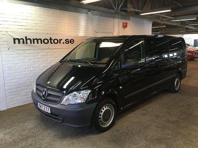 begagnad Mercedes Vito 116 CDI Aut 163hk 9-sits Nybesiktad
