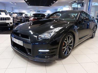 begagnad Nissan GT-R 3.8 Black Edition 4x4 DCT 550hk *