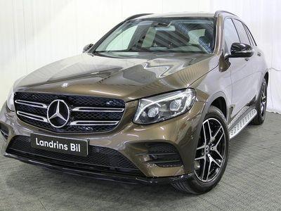 begagnad Mercedes 220 GLC4MATIC 9G-T AMG Line Bränsledriven värmare