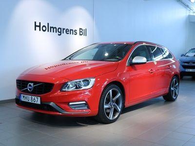 begagnad Volvo V60 D3 150 R-Design BE Pro VOC Drag Lucka