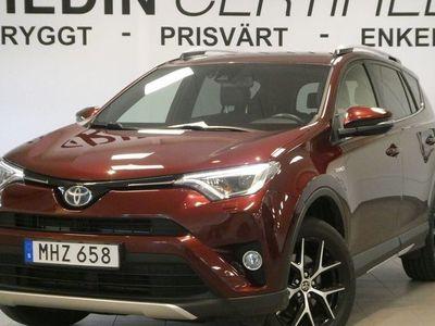 begagnad Toyota RAV4 Hybrid Hybrid 2.5 i-AWD V-hjul