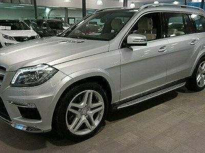 begagnad Mercedes 350 GL BenzCDI AMG | 7-sits | Drag | Byte 2013, Kombi Pris 419 000 kr