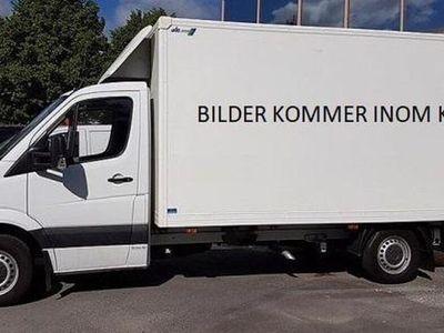 begagnad Mercedes Sprinter 316 CDI Chassi Volymskåp med Lyft MAN - 10