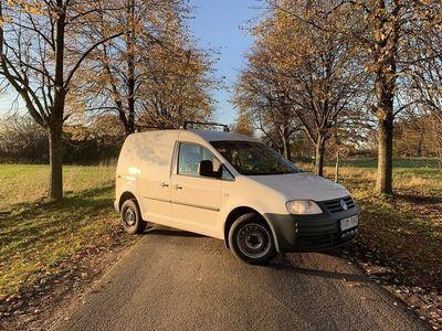 begagnad VW Caddy Svensksåld skåp 1.6 Bensin 2007, Transportbil 29 999 kr