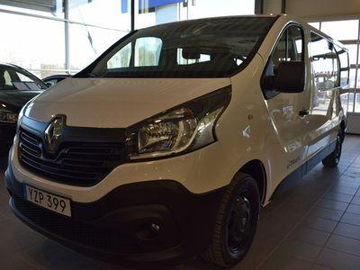 begagnad Renault Trafic Minibuss Passenger 1,6 125 TT S S L2H1 2018, Transportbil 194 900 kr