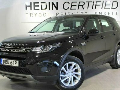 begagnad Land Rover Discovery Sport 2.0TD4 4WD 7-Sits Automat D 2019, SUV Pris 349 900 kr