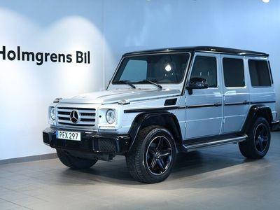 begagnad Mercedes G350 d LWB 350d L 7G, Amg, Designo, Taklucka