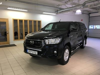 begagnad Toyota HiLux Invincible 2,4 AWD 2019, Transportbil 386 250 kr