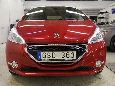 gebraucht Peugeot 208 1,6 GTi 200hk GPS V-hjul