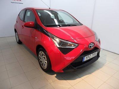 begagnad Toyota Aygo 1,0 5-D X-PLAY SMARTPHONE INTEGRATION 2018, Halvkombi 104 900 kr