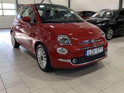 begagnad Fiat 500 1,2l 69HK Lounge
