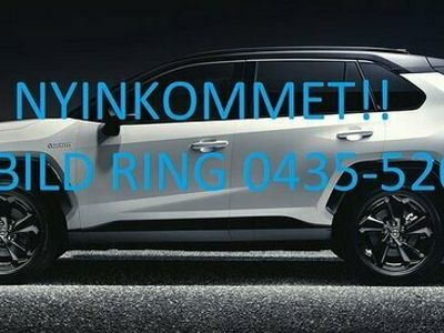 begagnad Toyota RAV4 2.0 4WD Edition Feel Automat Navi