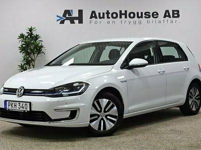 begagnad VW Golf Plus E-Golf 35.8 kWh Plus-paket GPS Värmepump 2017, Halvkombi Pris 224 000 kr