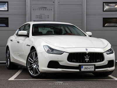 begagnad Maserati Ghibli S Q4 3.0 V6 410hk Svensksåld -14