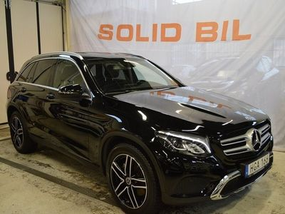 begagnad Mercedes GLC220 GLC Benzd 4MATIC 9G DRAG LÄDER SE-EDITION 2019, SUV 383 800 kr