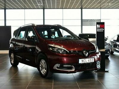 begagnad Renault Grand Scénic 1.5 dCi DCT LIMITED Euro 6 7-sits 110hk