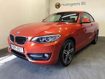 begagnad BMW 218 i Coupé