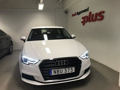 begagnad Audi A3 1.5 TFSI S-tronic 2019, Halvkombi 249 000 kr