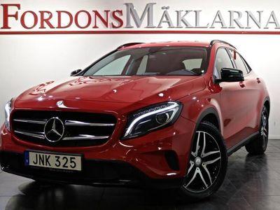 begagnad Mercedes GLA220 CDI 4MATIC DRAG NIGHT PACKAGE FRI HEMLEV