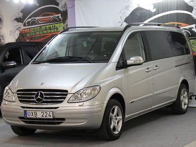 begagnad Mercedes Viano 3.2 TREND AUTOMAT 190HK (6 SITS) DRAG NY BESIKTAD NY SERVAD