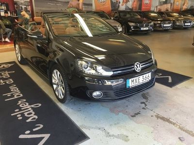 begagnad VW Golf Cabriolet 1.4 TSI Premium, Comfort, Design & Style, Vinter