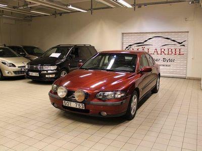begagnad Volvo S60 2.4 EN ÄGARE 170HK M-VÄRMARE DRAGKROK