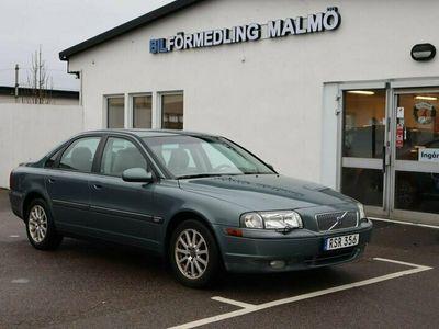 begagnad Volvo S80 2.4 140hk 17000 mil Skinnklädsel