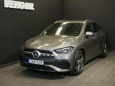 begagnad Mercedes 200 GLA Benzd 4-Matic AMG Backkamera Värmare Aut Drag Nav 2021, Halvkombi Pris 425 000 kr