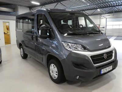 used Fiat Ducato 2.3 Multijet Euro 6 150hk 9sits Panorama
