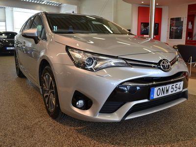 begagnad Toyota Avensis Kombi 1.6D Active Plus Dragkrok Vinterhjul ingår!