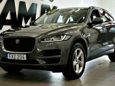 begagnad Jaguar F-Pace 20d AWD Navi Auto Drag M&K-Värm S&V-hjul 2018, SUV Pris 349 800 kr