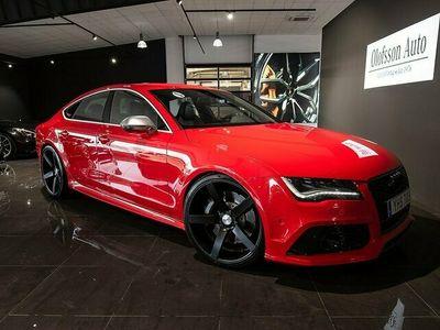 begagnad Audi RS7 Sportback 4.0 TFSI Quattro Comfort Keyless Navi 2014, Sportkupé 579 000 kr